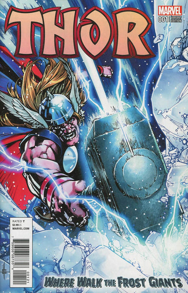 THOR WHERE WALK THE FROST GIANTS #1 HOWARD VAR