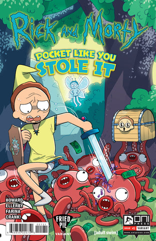 RICK & MORTY POCKET LIKE YOU STOLE IT #1 (OF 5) FRIED PIE EXCLUSIVE