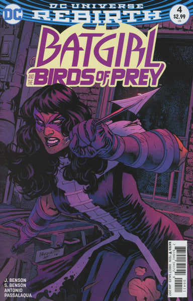 BATGIRL & THE BIRDS OF PREY COVER VARIANT A 1ST PRINT