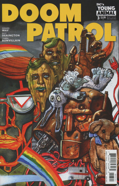 DOOM PATROL VOL 6 #3 COVER VARIANT B BISLEY