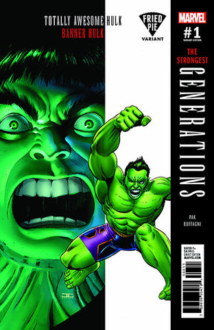 GENERATIONS BANNER HULK & TOTALLY AWESOME HULK #1 FRIED PIE EXCLUSIVE