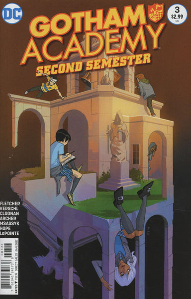 GOTHAM ACADEMY SECOND SEMESTER #3 COVER VARIANT B STAPLES