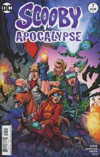 SCOOBY APOCALYPSE #7 COVER VARIANT A 1ST PRINT