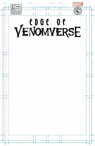 EDGE OF VENOMVERSE #1 SCORPION BLANK EXCLUSIVE