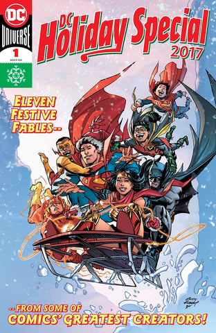 VERY DC UNIVERSE REBIRTH CHRISTMAS TP