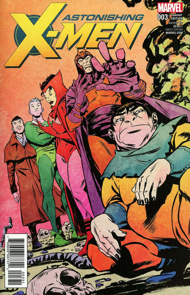 ASTONISHING X-MEN #3 GREENE VILLAIN VAR