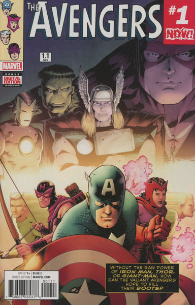 AVENGERS VOL 6 #1.1 COVER A 1ST PRINT
