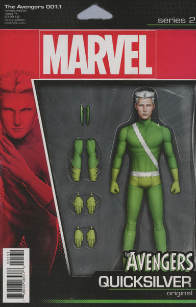 AVENGERS VOL 6 #1.1 COVER VARIANT B CHRISTOPHER ACTION FIGURE