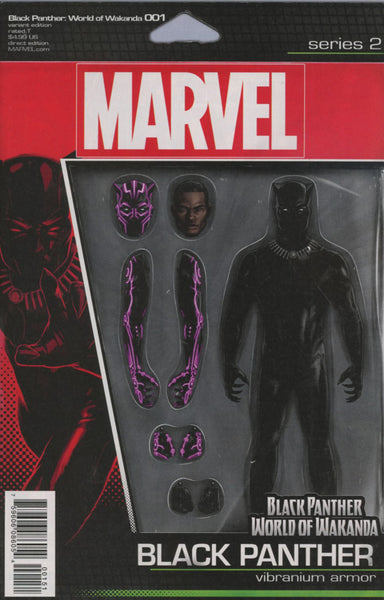 BLACK PANTHER WORLD OF WAKANDA #1 COVER VARIANT D ACTION FIGURE