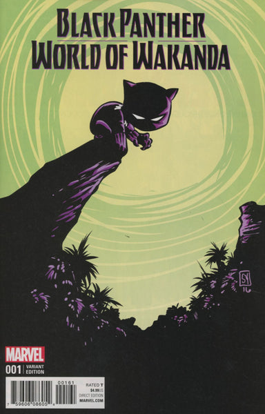 BLACK PANTHER WORLD OF WAKANDA #1 COVER VARIANT E S YOUNG BABY