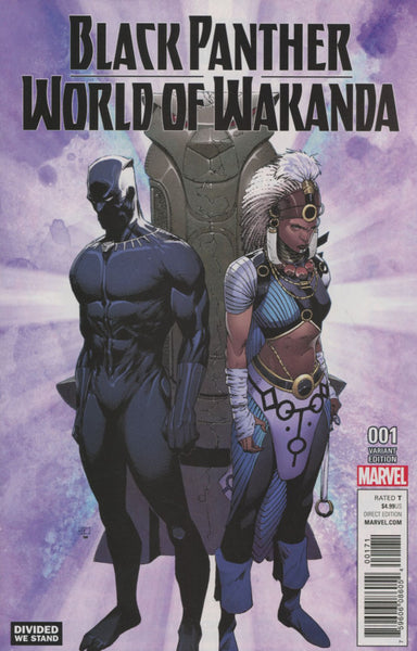 BLACK PANTHER WORLD OF WAKANDA #1 VARIANT F DIVIDED WE STAND
