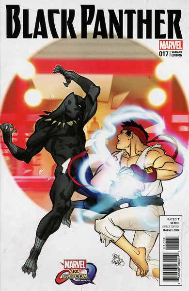 BLACK PANTHER #17 MARVEL VS CAPCOM VAR