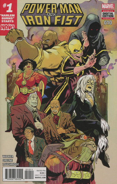 POWER MAN & IRON FIST VOL 3 #10 COVER A 1st PRINT