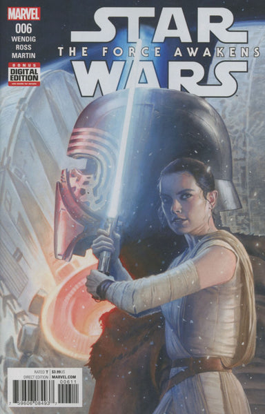 STAR WARS EPISODE VII THE FORCE AWAKENS ADAPTATION #6 1ST PRINT