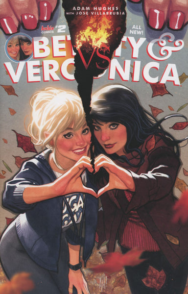 BETTY & VERONICA VOL 2 #2 COVER A ADAM HUGHES 1st PRINT