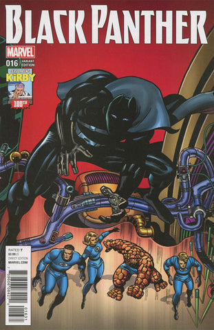 BLACK PANTHER #16 KIRBY 100TH VAR