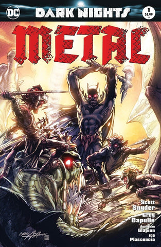 DARK NIGHTS METAL #1 (OF 6) LEGENDS NEAL ADAMS EXCLUSIVE