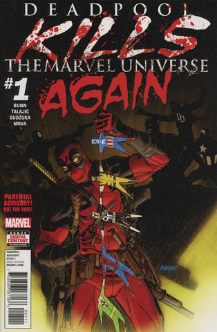 DEADPOOL KILLS MARVEL UNIVERSE AGAIN #1