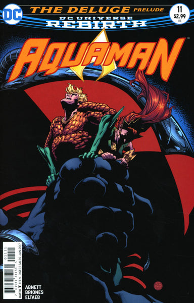 AQUAMAN VOL 6 #11 COVER A 1st PRINT