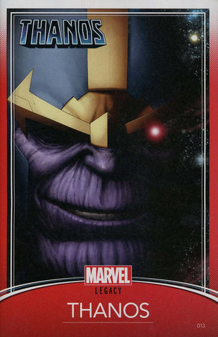 THANOS #13 CHRISTOPHER TRADING CARD VAR LEG