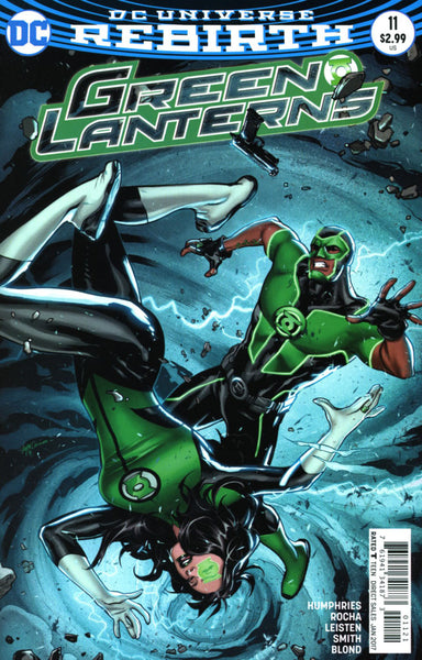 GREEN LANTERNS #11 COVER VARIANT B LUPACCHINO