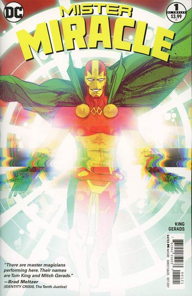 MISTER MIRACLE #1 (OF 12) VAR ED