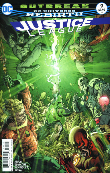 JUSTICE LEAGUE VOL 3 #9 COVER A 1st PRINT