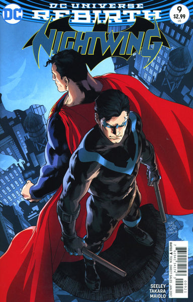NIGHTWING VOL 4 #9 COVER VARIANT B REIS & PRADO
