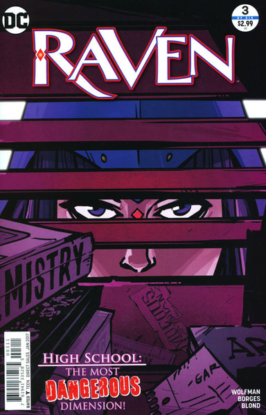 RAVEN #3 COVER A 1ST PRINT