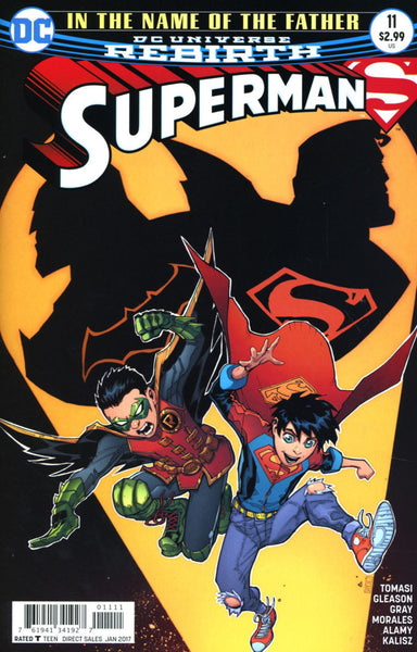 SUPERMAN VOL 5 #11 COVER A 1st PRINT GLEASON