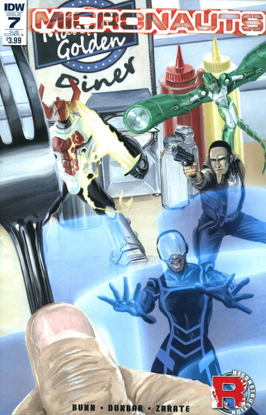 MICRONAUTS #7 ONGOING SUB VARIANT A WOODWARD
