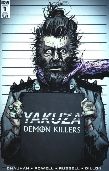 YAKUZA DEMON KILLERS #1 OF 6 SUB VARIANT POWELL