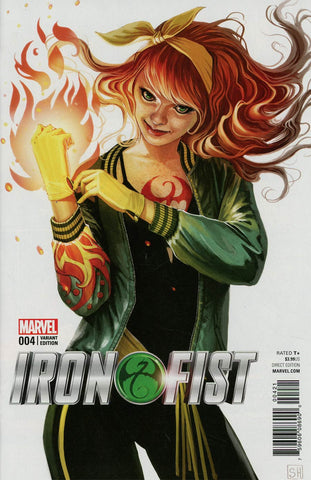 IRON FIST #4 HANS MARY JANE VAR