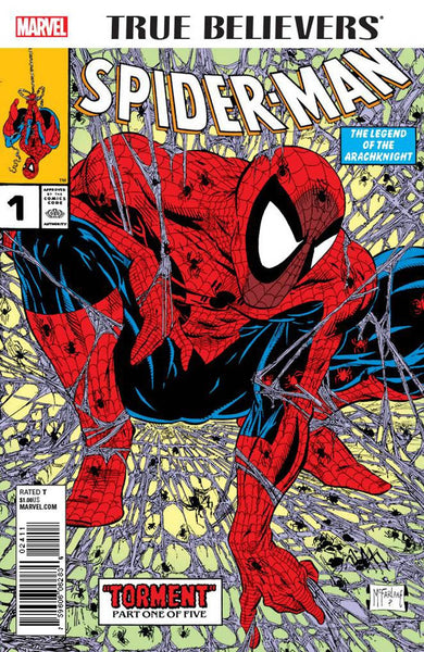 TRUE BELIEVERS SPIDER-MAN #1