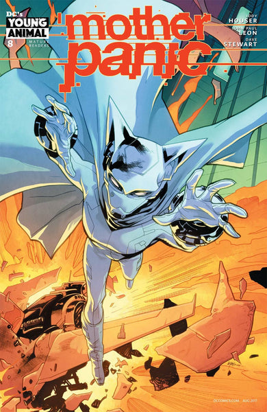 MOTHER PANIC #8 VAR ED