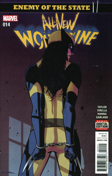ALL NEW WOLVERINE #14 COVER A 1ST PRINT