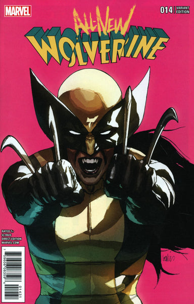 ALL NEW WOLVERINE #14 YU VAR