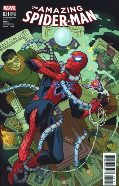 AMAZING SPIDERMAN VOL 4 #21 RIVERA VAR