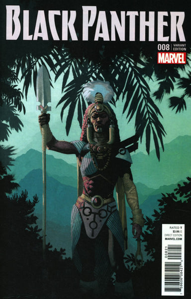 BLACK PANTHER VOL 6 #8 COVER B VARIANT CONNECTING