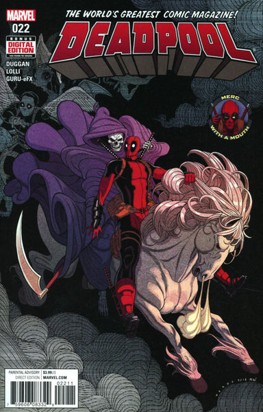 DEADPOOL VOL 5 #22 COVER A 1ST PRINT