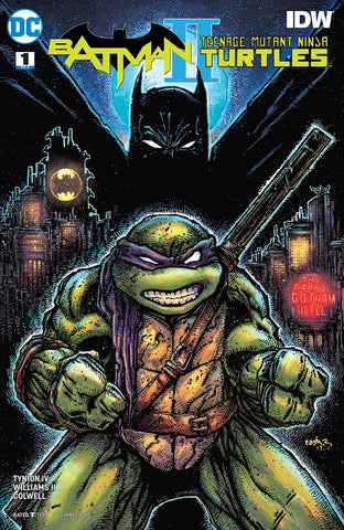BATMAN TEENAGE MUTANT NINJA TURTLES II #1 (OF 6) VAR ED