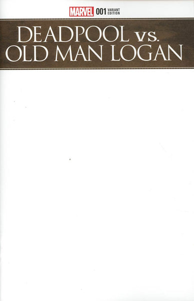 DEADPOOL VS OLD MAN LOGAN #1 (OF 5) BLANK VAR
