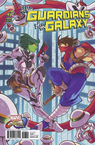 ALL NEW GUARDIANS OF GALAXY #7 HUANG MARVEL VS CAPCOM VAR