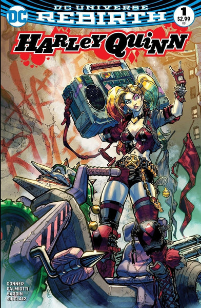 HARLEY QUINN VOL 3 #1 ALLIANCE CARLOS D'ANDA COLOR VARIANT