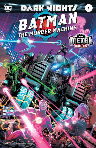 BATMAN THE MURDER MACHINE #1 (METAL) FOIL STAMPED COVER