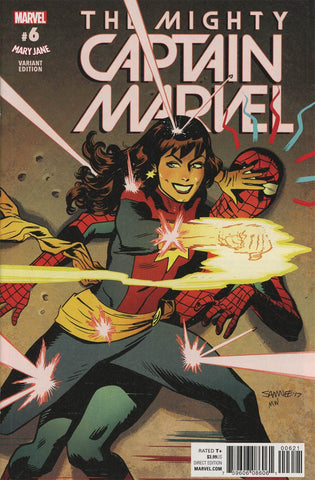 MIGHTY CAPTAIN MARVEL #6 SAMNEE MARY JANE VAR SE