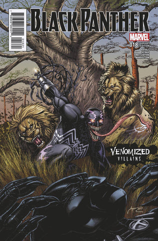 BLACK PANTHER #18 VENOMIZED KLAW VAR