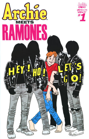 ARCHIE MEETS RAMONES ONE SHOT 2ND PTG