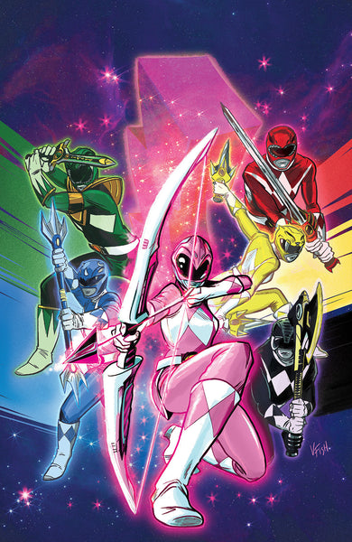 MIGHTY MORPHIN POWER RANGERS #1 ACCC VARIANT