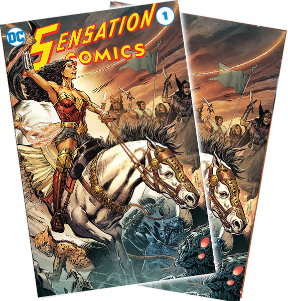 Sensation Comics #1 Convention 2 Pack Exclusive